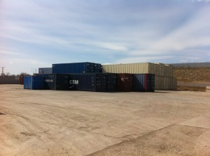 Available container sizes  9 feet, 20 feet, 40 feet, 45 feet, 53 feet